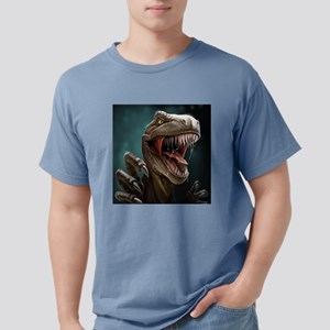 Velociraptor Mens Comfort Colors Shirt